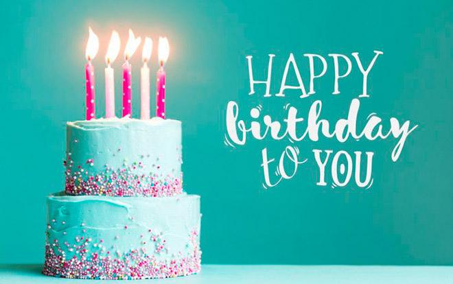 Песенка с днем рождения тебя на английском