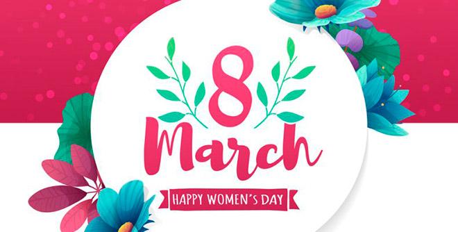 Поздравление с 8 марта на английском