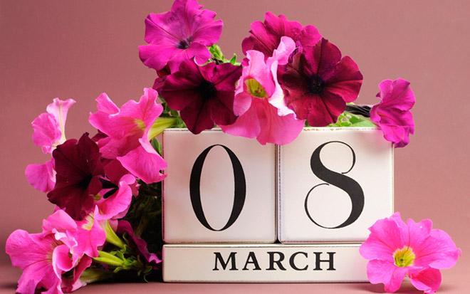 8 марта открытки