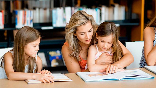 Учить стихи с ребенком
