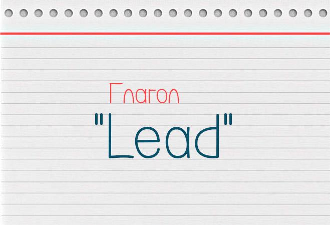 3 формы глагола lead